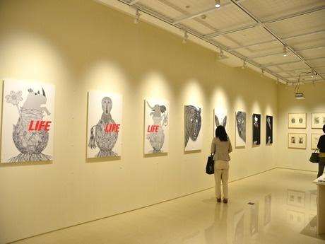 グラフィックデザイナー・永井一正さんの個展「LIFE」