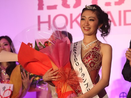 ミス・ユニバース北海道代表に選ばれた大村梨彩子さん