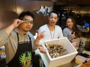 札幌すすきのカキ専門店が1周年 朝直送の厚岸産カキにリピート客も