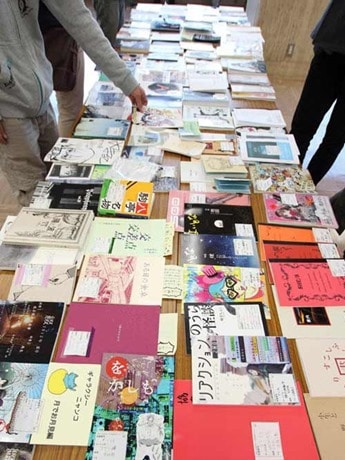 「文学フリマ」イメージ(東京開催写真)