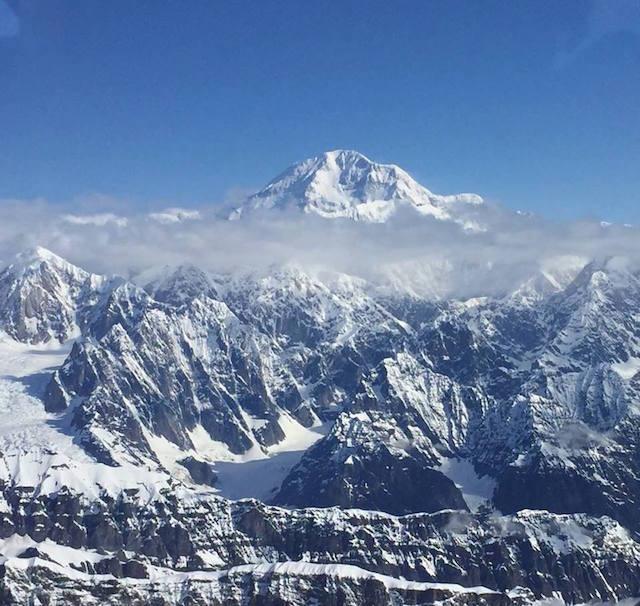 北米大陸最高峰のデナリ