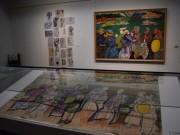 北海道立近代美術館で日本画家・片岡珠子展 スケッチ350冊を主役に本画30点展示