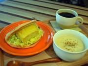 札幌にゲストハウス併設の和風サンドイッチ店 鮭のちゃんちゃん焼きサンドなど
