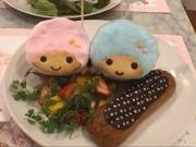 札幌パルコに「キキ&ララカフェ」 札幌初登場イチゴパフェやグッズも