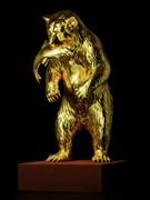 札幌三越で「大黄金展」 「ヒグマとサケ」が全国初登場、純金製ウルトラセブンも