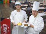 札幌市役所食堂でサッポロスマイル特別ランチ フランス栄誉称号シェフ監修