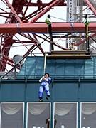 さっぽろテレビ塔で27メートルダイブイベント 開業60周年で
