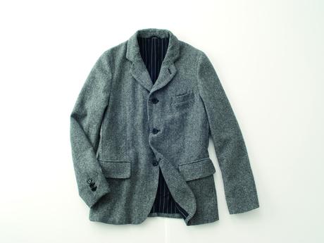 ゆったりと着られるジャケット