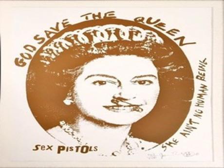 ジェイミー・リードさんの「god save the queen」