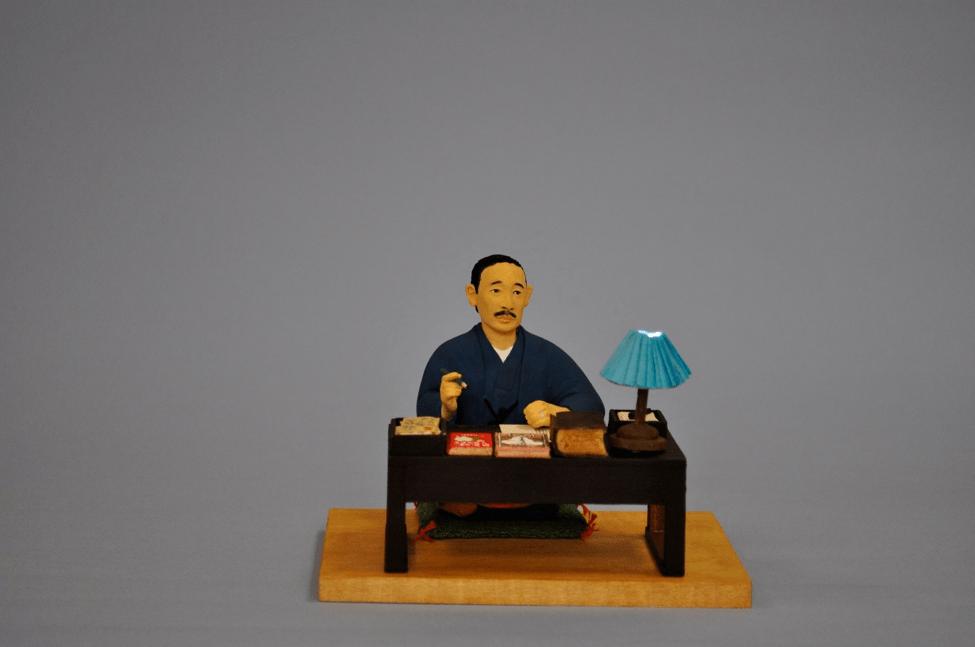 ちまちま人形・有島武郎 制作:高山美香
