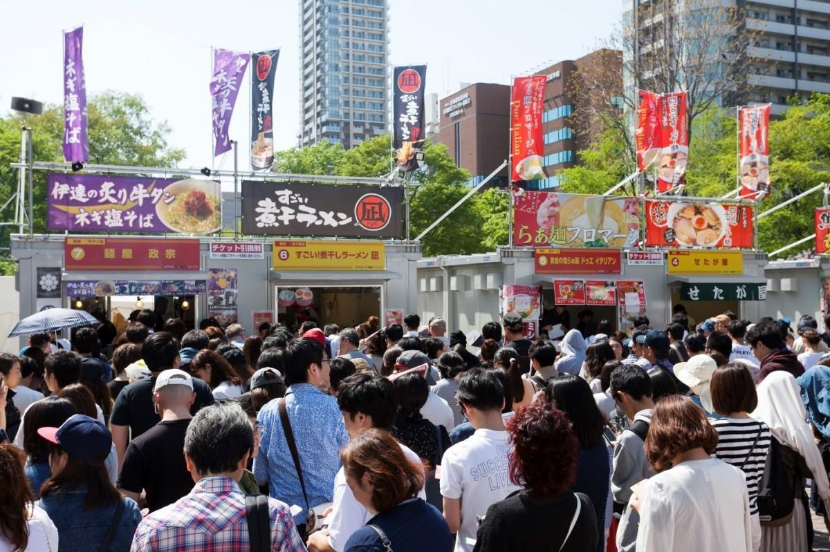 札幌大通公園で「札幌ラーメンショー」 全国ラーメン店が札幌に集結 ...