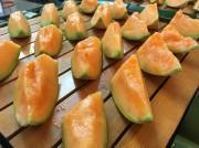 夕張・農協銘産センターでメロン食べ放題「めろんのテラス」 今年はステーキ食べ放題も