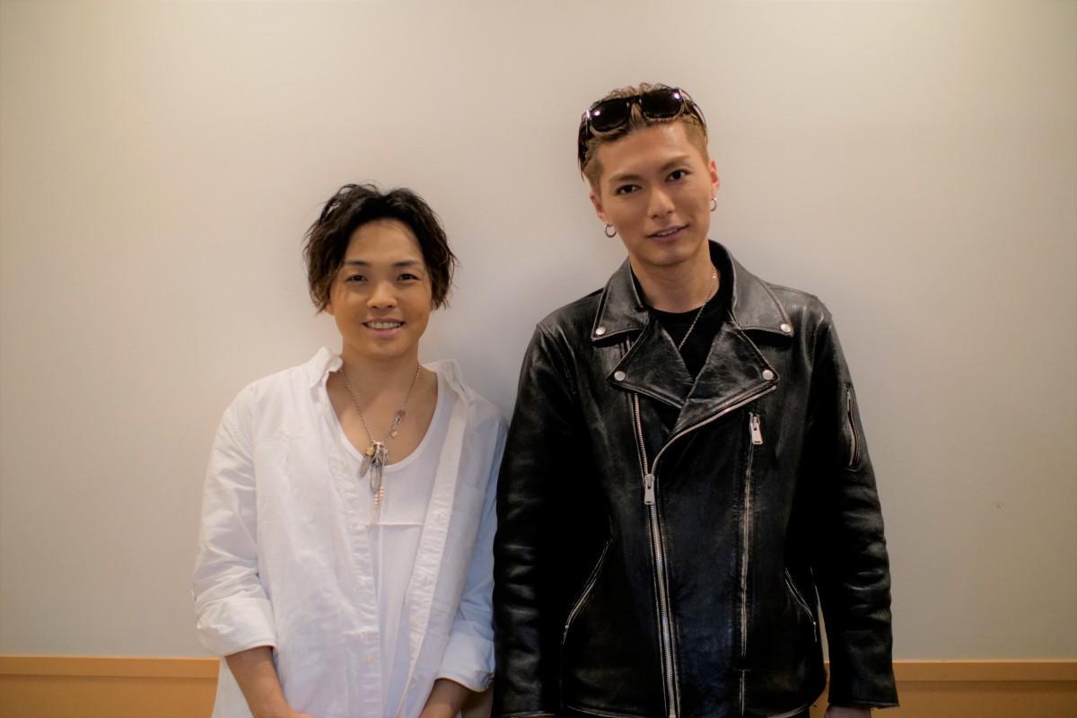 佐藤広大さん(左)とSHOKICHIさん(右)