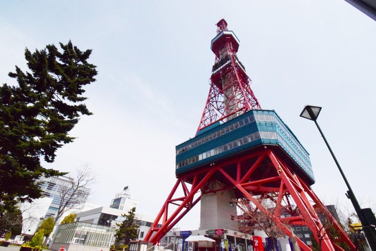 GW中、特別ライトアップやイベントを実施する「さっぽろテレビ塔」