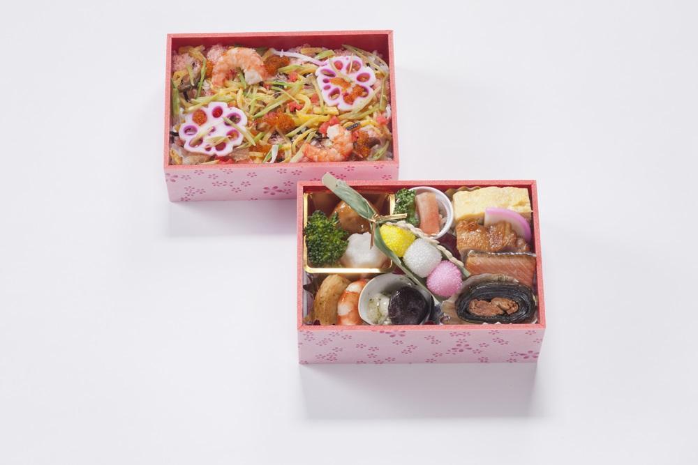 丸井今井で提供する喜久一本店の「お祝い御膳」
