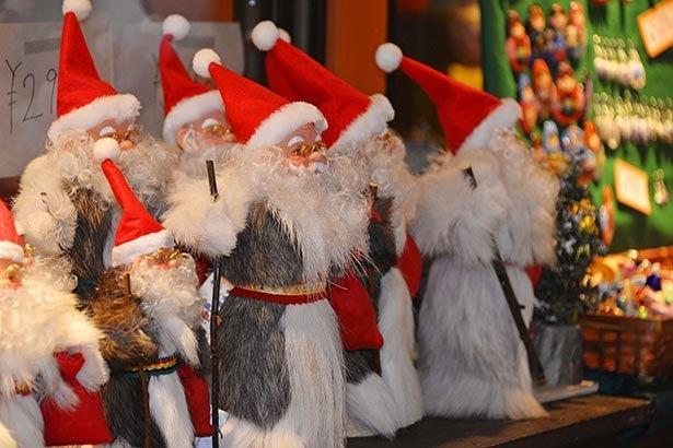 会場はクリスマス一色