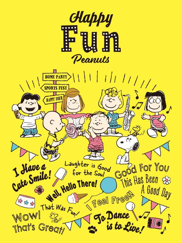 Happy Fun Peanuts イメージアート ©2021 Peanuts Worldwide LLC