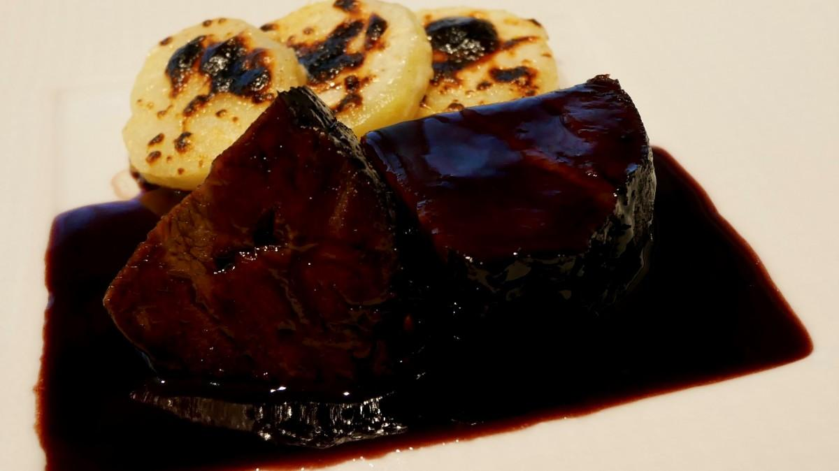 セミナーで作った牛肉を使った料理