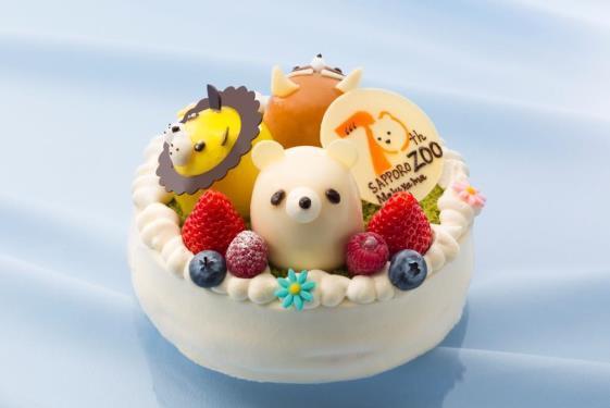 「円山ZOO 70thアニバーサリーケーキ」