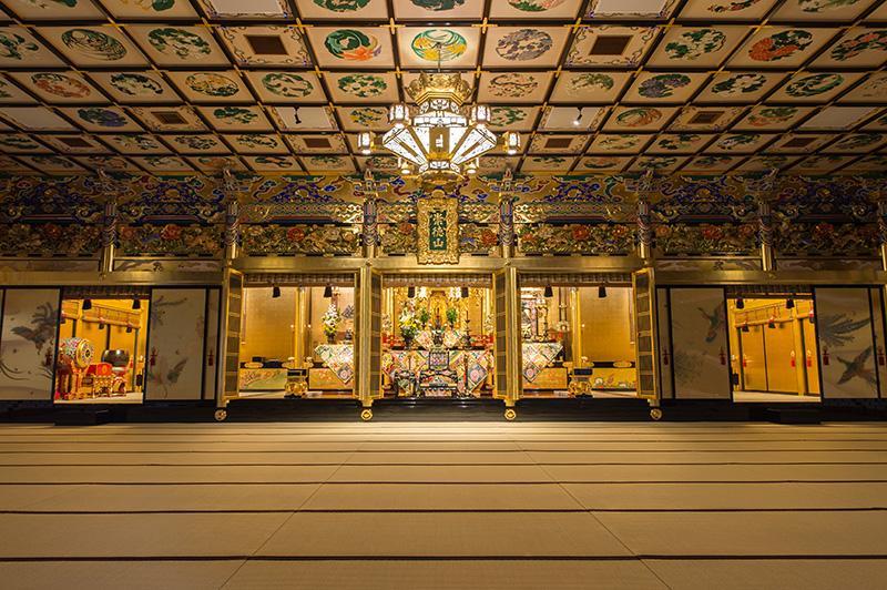 覚王寺の本堂