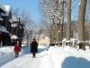 北海道開拓の村で「冬の生活体験」 昔の防寒具・冬遊び体験なども