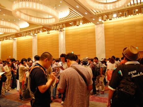 1200人超が来場した「滋賀地酒の祭典 きき酒会in大阪」