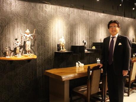 「SEMBA 223 CAFE in STORE」店主の高橋さん
