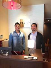 大阪京町堀にステーキ専門店 店主は元プロラグビー選手、来店客に現役選手も