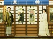 朝ドラ「あさが来た」、大阪の舞台地巡るラッピング車両