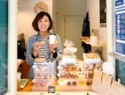 大阪江戸堀にテークアウトのコーヒー店 70円の焼きドーナツも