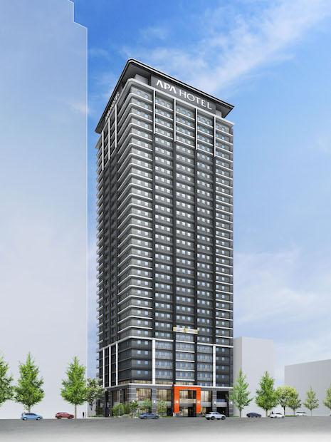 アパグループが大阪本町のビル解体に着手 駅直結タワーホテル建設へ
