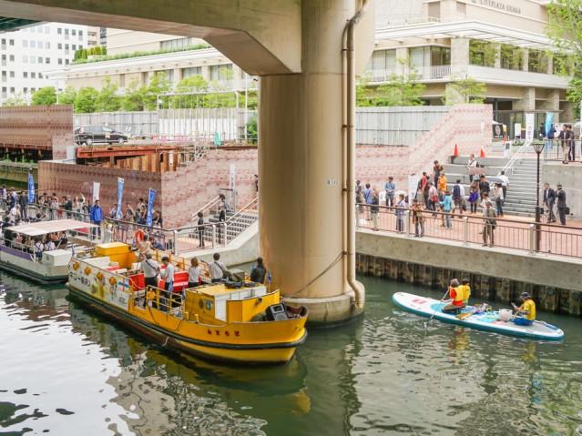 大阪・東横堀川周辺エリアで街歩きイベント 水辺の再生目指し10年 ...