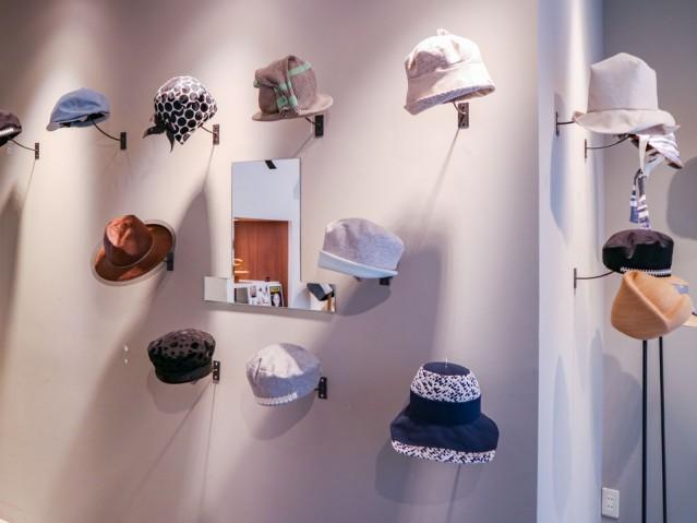 大阪・北浜のハンドメード帽子店「プットオン」が3周年 サイズ指定も対応