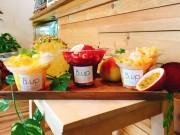 大阪・京町堀のコールドプレスジュース店が「かき氷」 無添加などにこだわり
