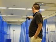 大阪・靭テニスセンターでエアガン使う精密射撃競技「APS」体験・練習イベント