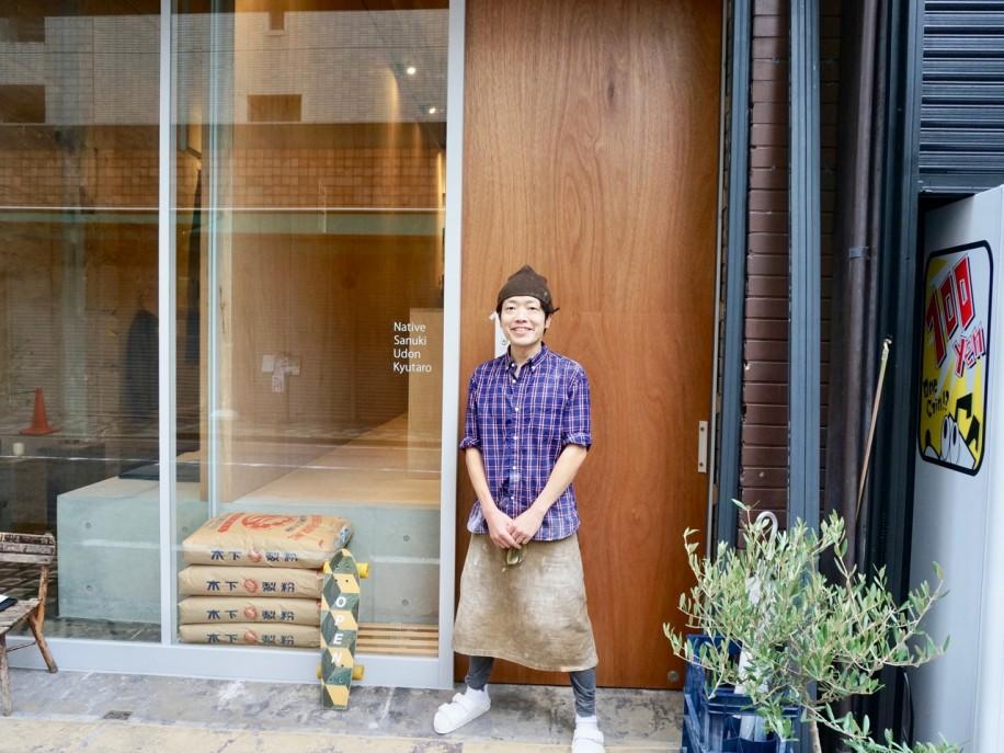 「Udon Kyutaro」店主の太田博和さん