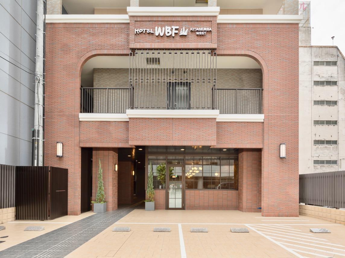 「ホテルWBF北船場WEST」の外観(写真提供=ホワイト・ベアーファミリー)