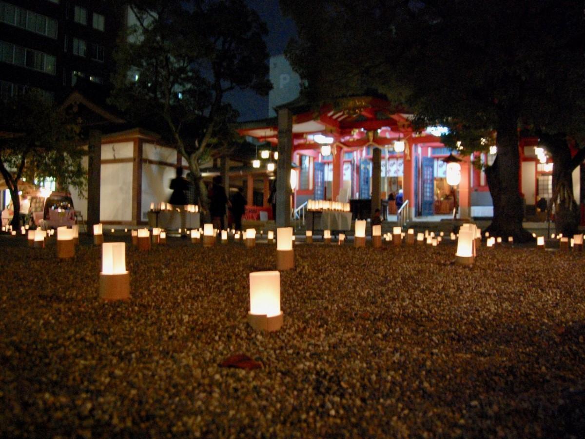 「秋祭り」開催時の様子(写真提供=御霊神社)