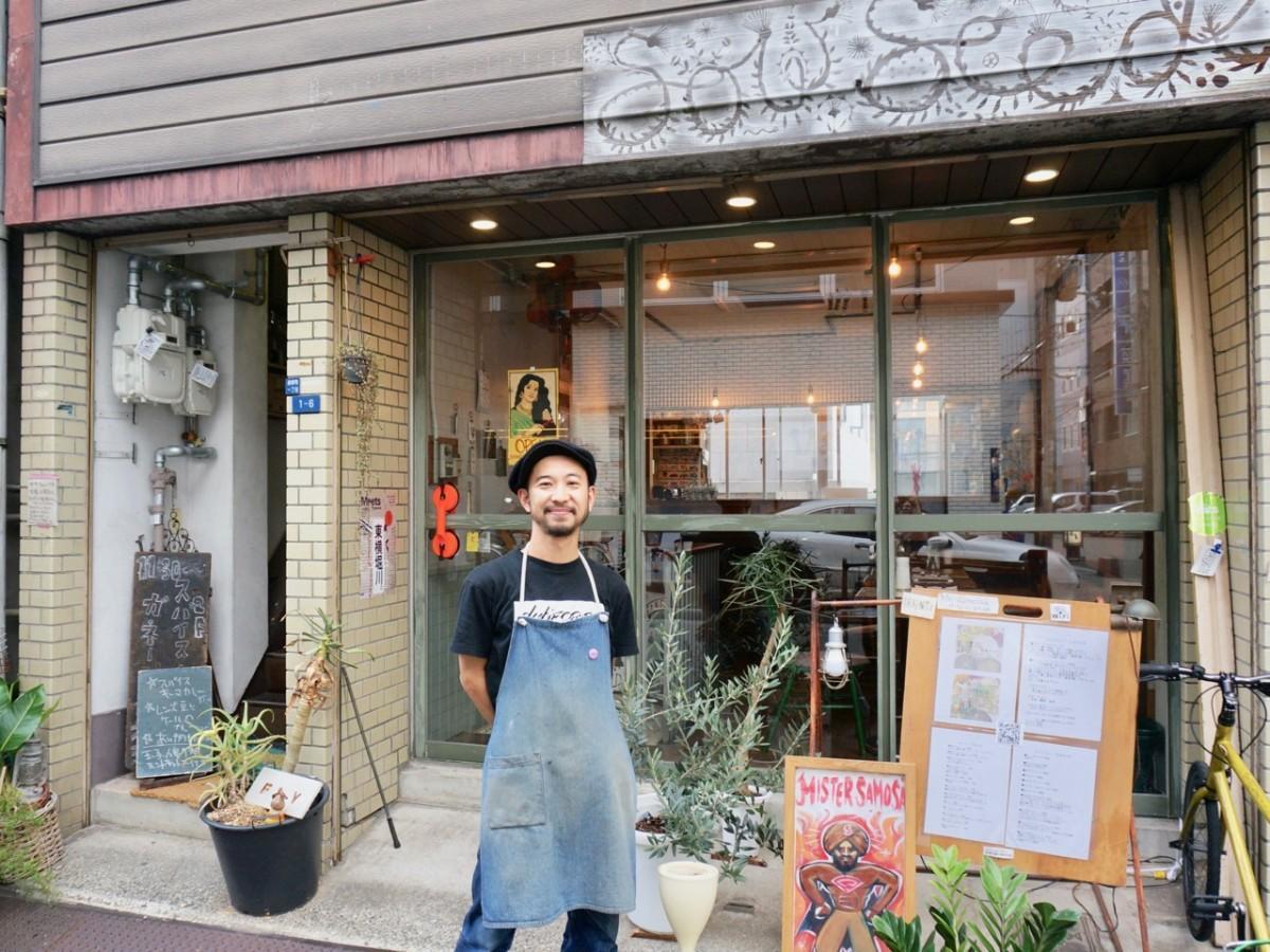 店主の野﨑健太郎さん