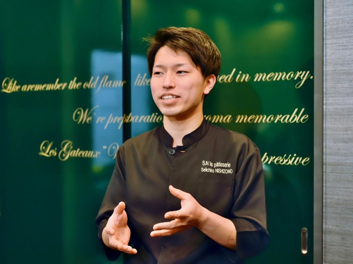 グランプリを受賞した「Seiichiro, NISHIZONO」の小西拓也さん(写真提供=「食の都・大阪」推進会議)