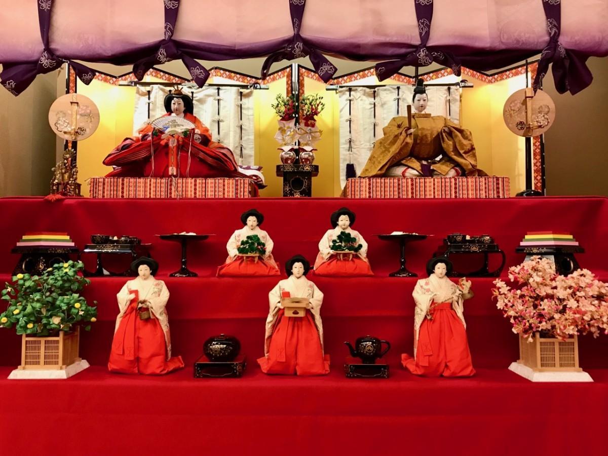 高麗橋吉兆のひな人形(写真提供=湯木美術館)