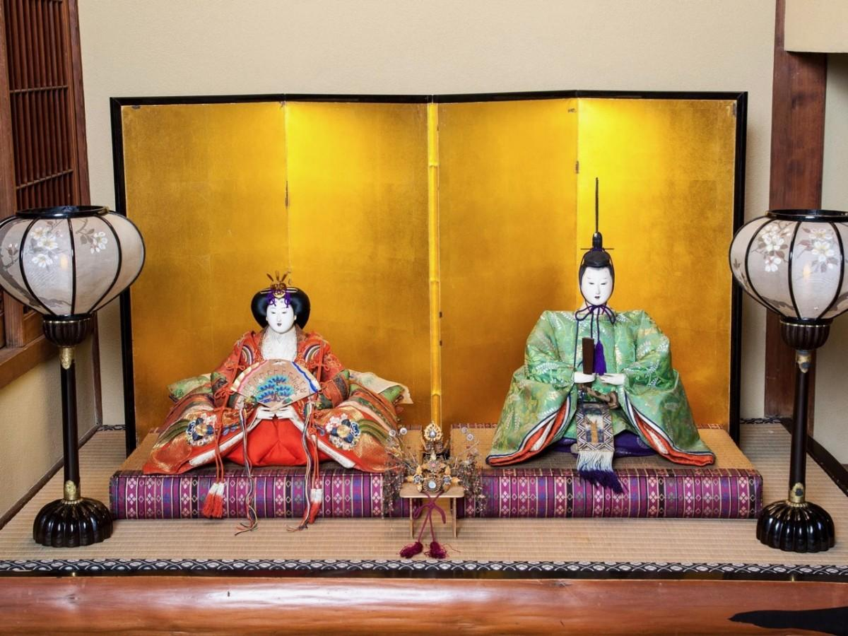 宗田家のひな人形(写真提供=船場博覧会実行委員会)