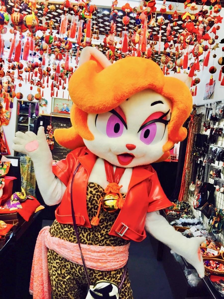 船場センタービルオリジナルキャラクターの船場リリィ(写真提供=大阪市開発公社)