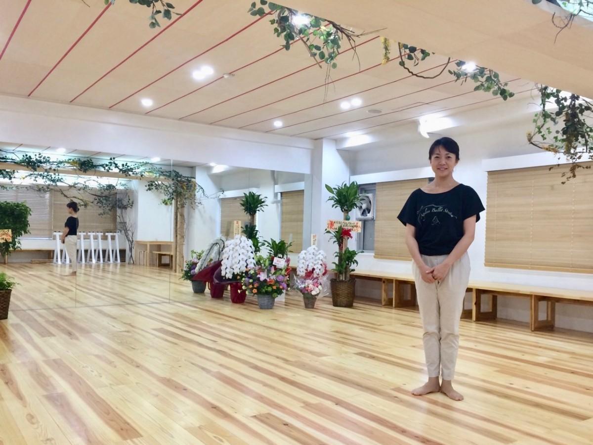 社長の藤井治子さん(写真提供=エイジレスバレエ・ストレッチ)