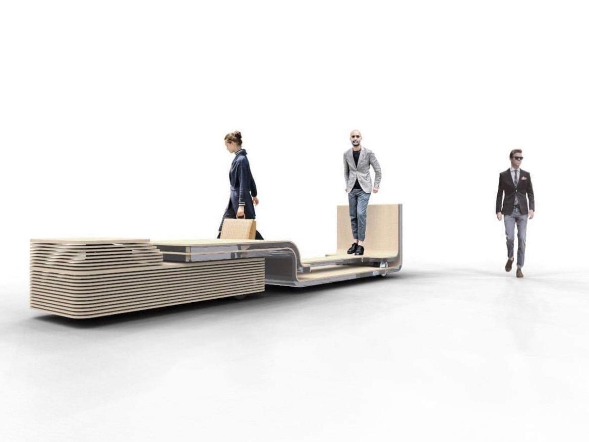 未来のまち歩き体験を提供する「iino」