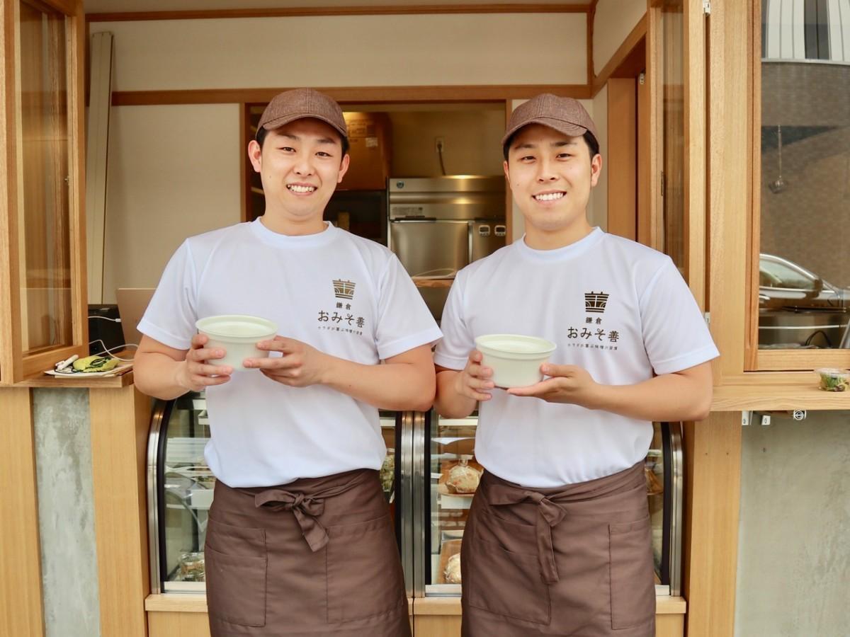 店長の長谷川正宗さんと弟の右京さん