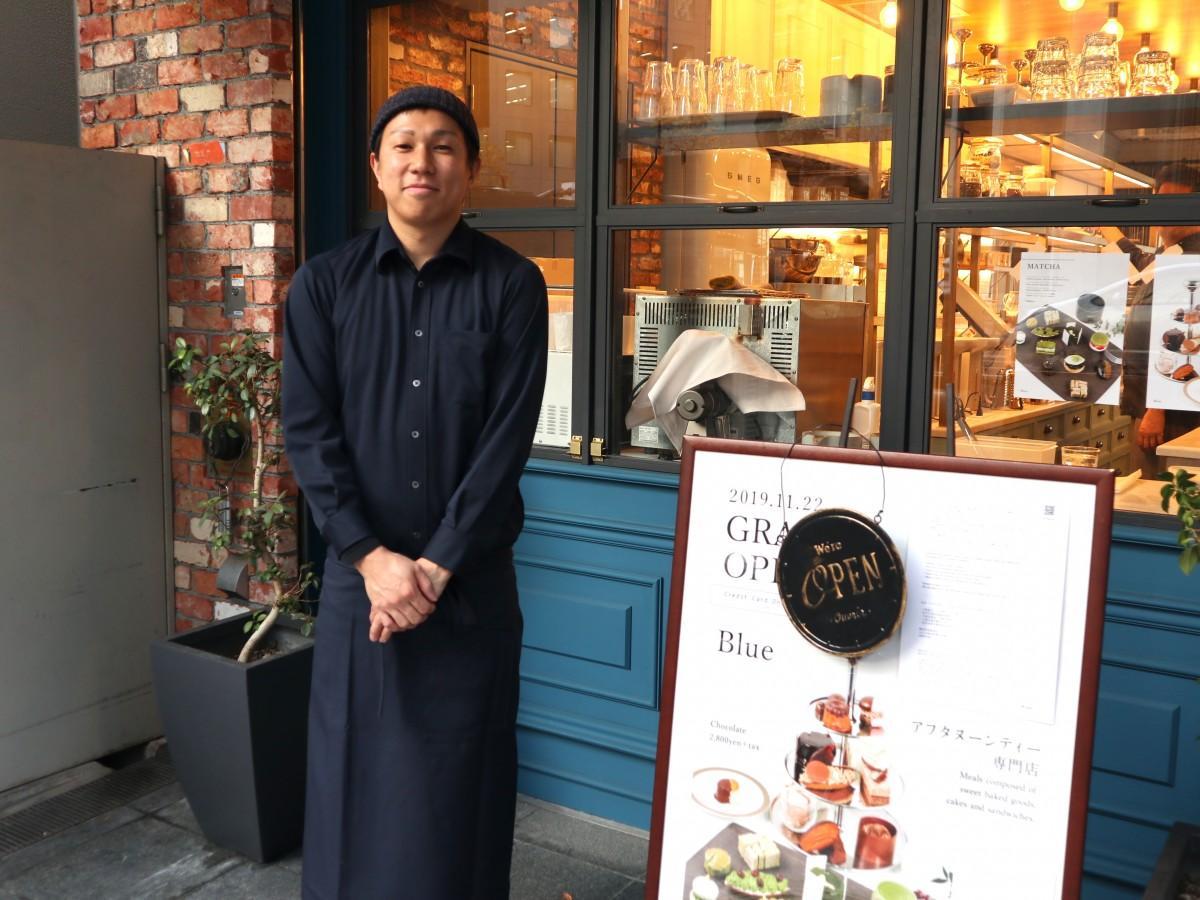 飲食事業本部の奥田さん