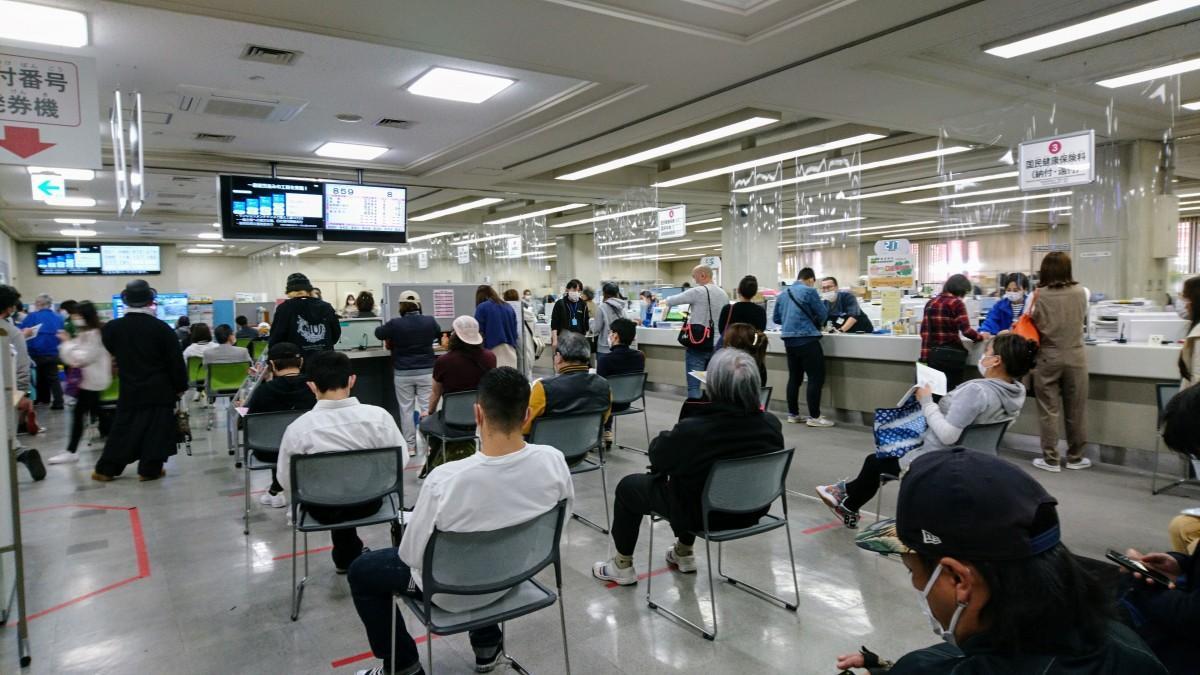 4月27日の大阪市中央区役所