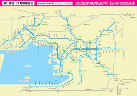 路線・出入口案内図|阪神高速道路株式会社 ドラ …