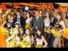 フーターズで阪神優勝を祈念した決起集会-岡田元阪神監督がトークショー